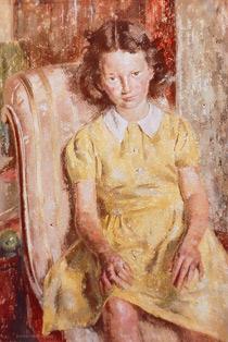 Julie in a Yellow Dress