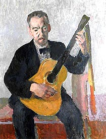 Portrait of the Artist Ethelbert White
