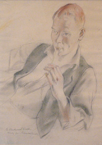 Study of Geoffrey Sampson for Farmer's Daughter