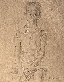 Seated Boy